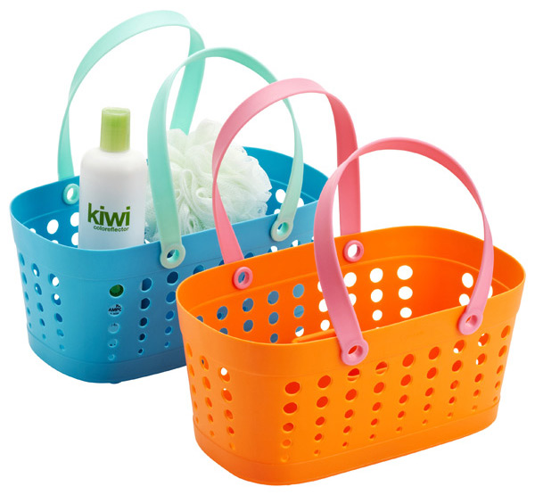 Bright shower caddy | Sheknows.com