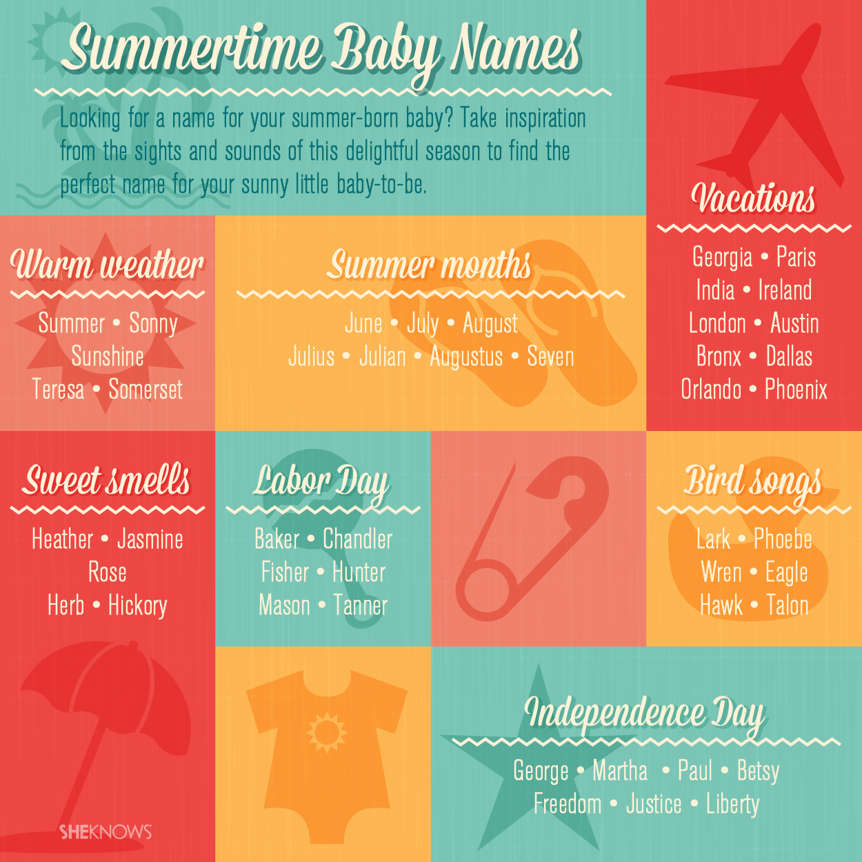 Summer time baby names | Sheknows.com