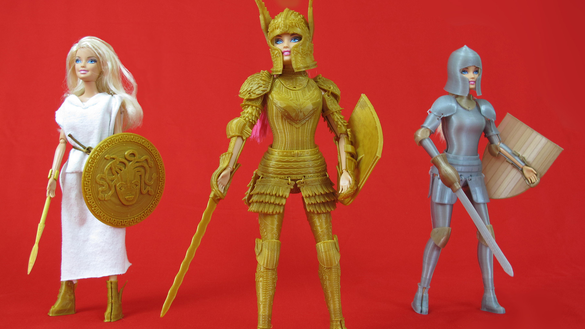 Barbie armored trio | Sheknows.com