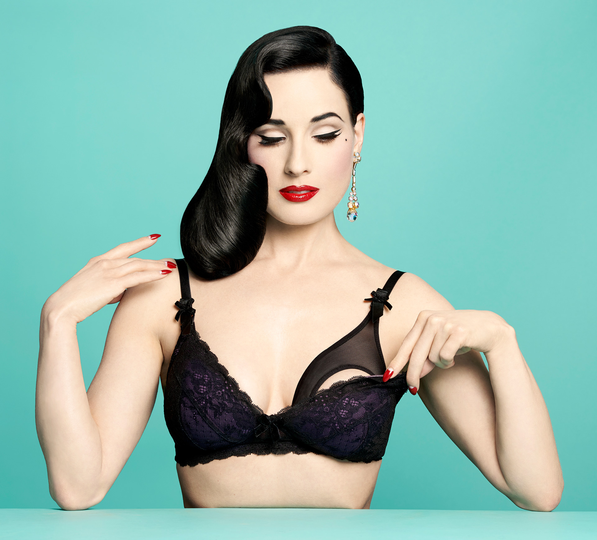 These Dita Von Teese nursing bras will make you want to breastfeed in public