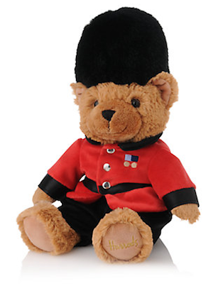 Harrods Guardsman teddy bear