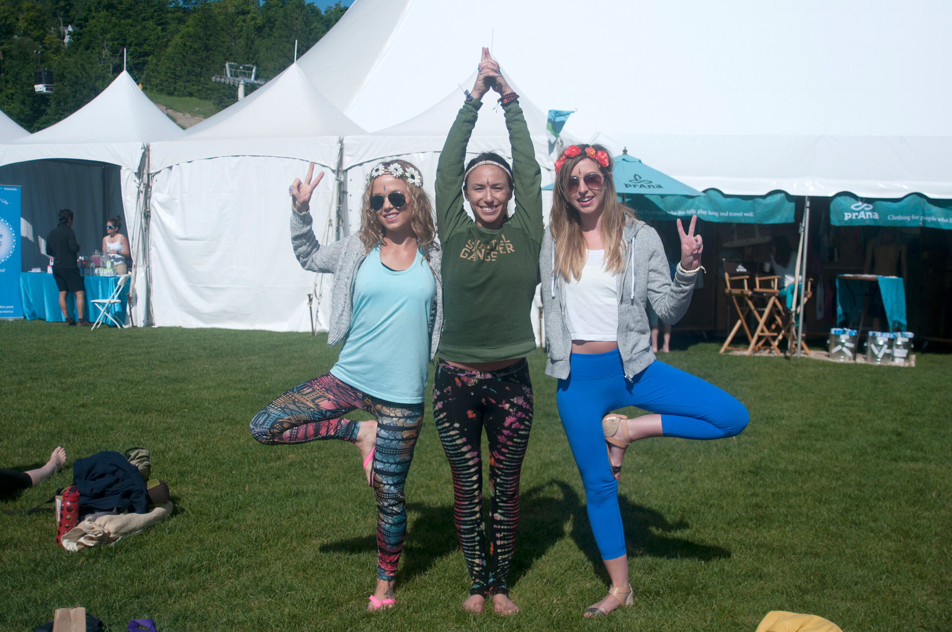 Check out the latest trends in yoga wear -- straight from Wanderlust Yoga Festival!