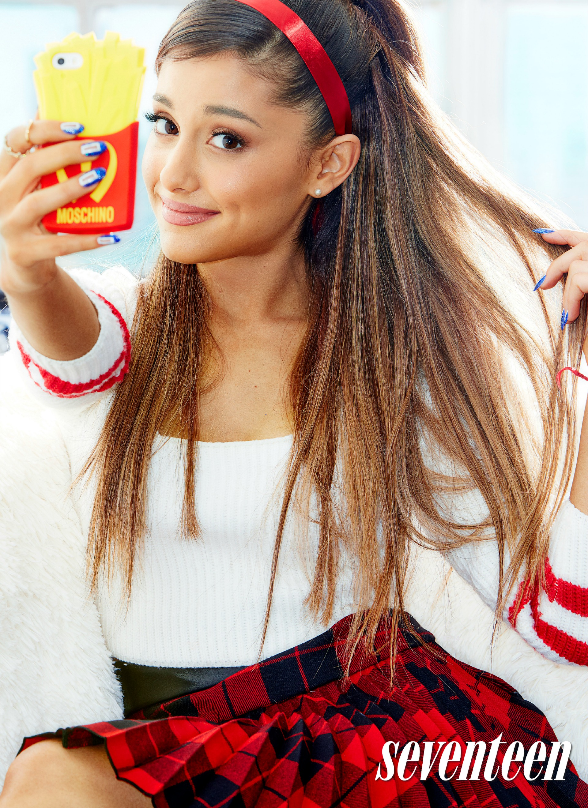 Ariana Grande opens up about her family as Seventeen's September cover girl