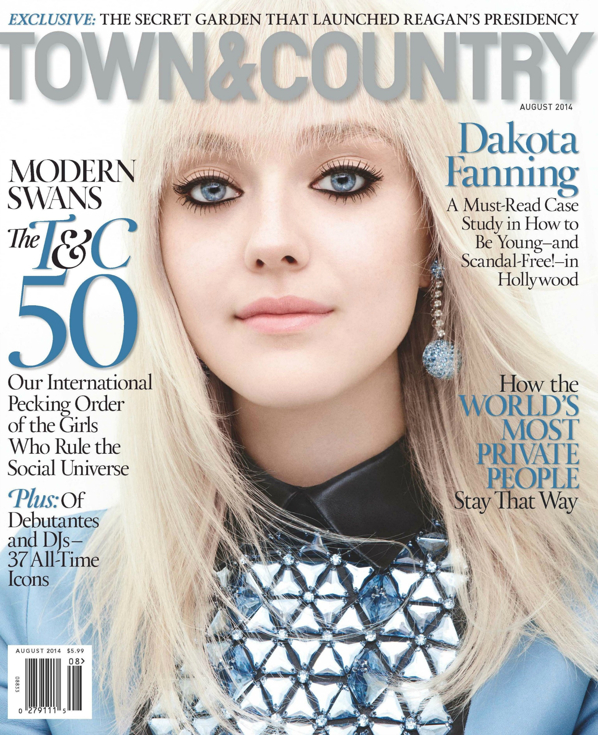 The actress covers Town & Country