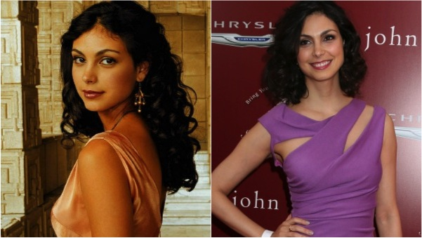 Morena Baccarin then and now