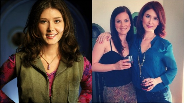 Jewel Staite then and now