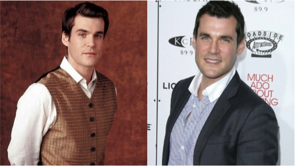 Sean Maher then and now