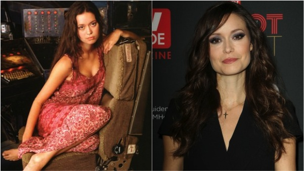Summer Glau then and now