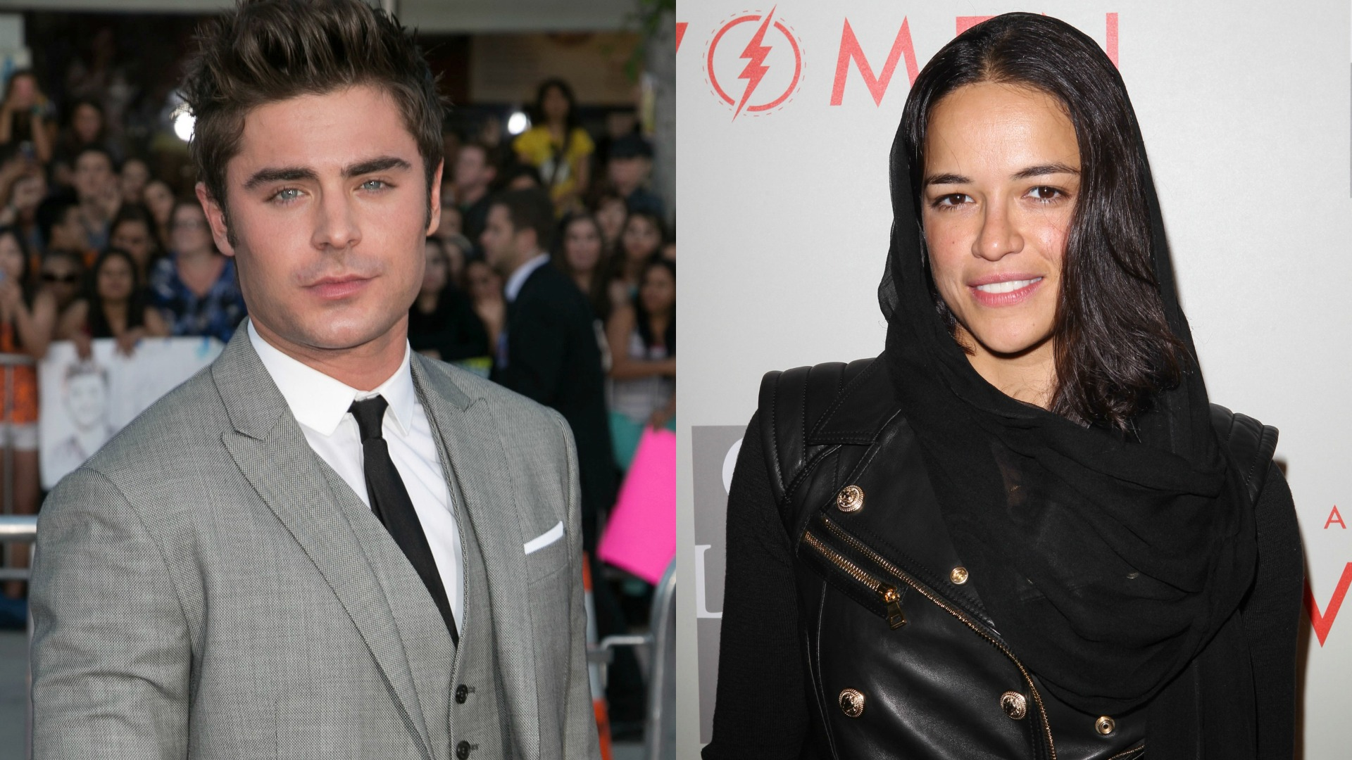 Zac Efron and Michelle Rodriguez have an Italian fling