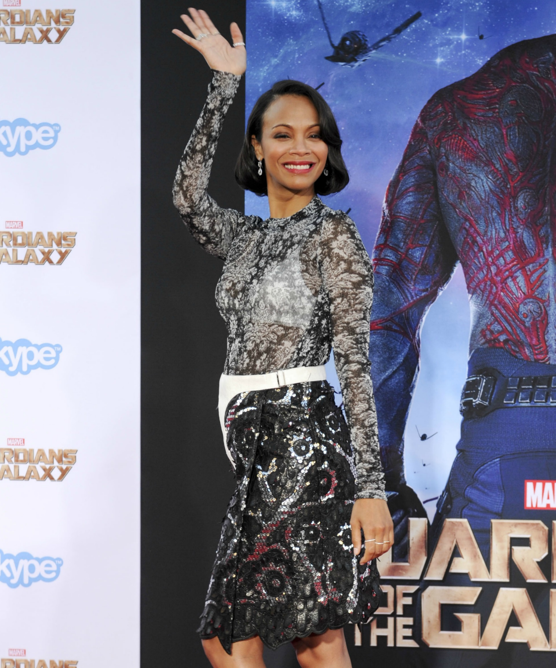 Zoe Saldana and husband Marco Perego are expecting a baby, publicist confirms