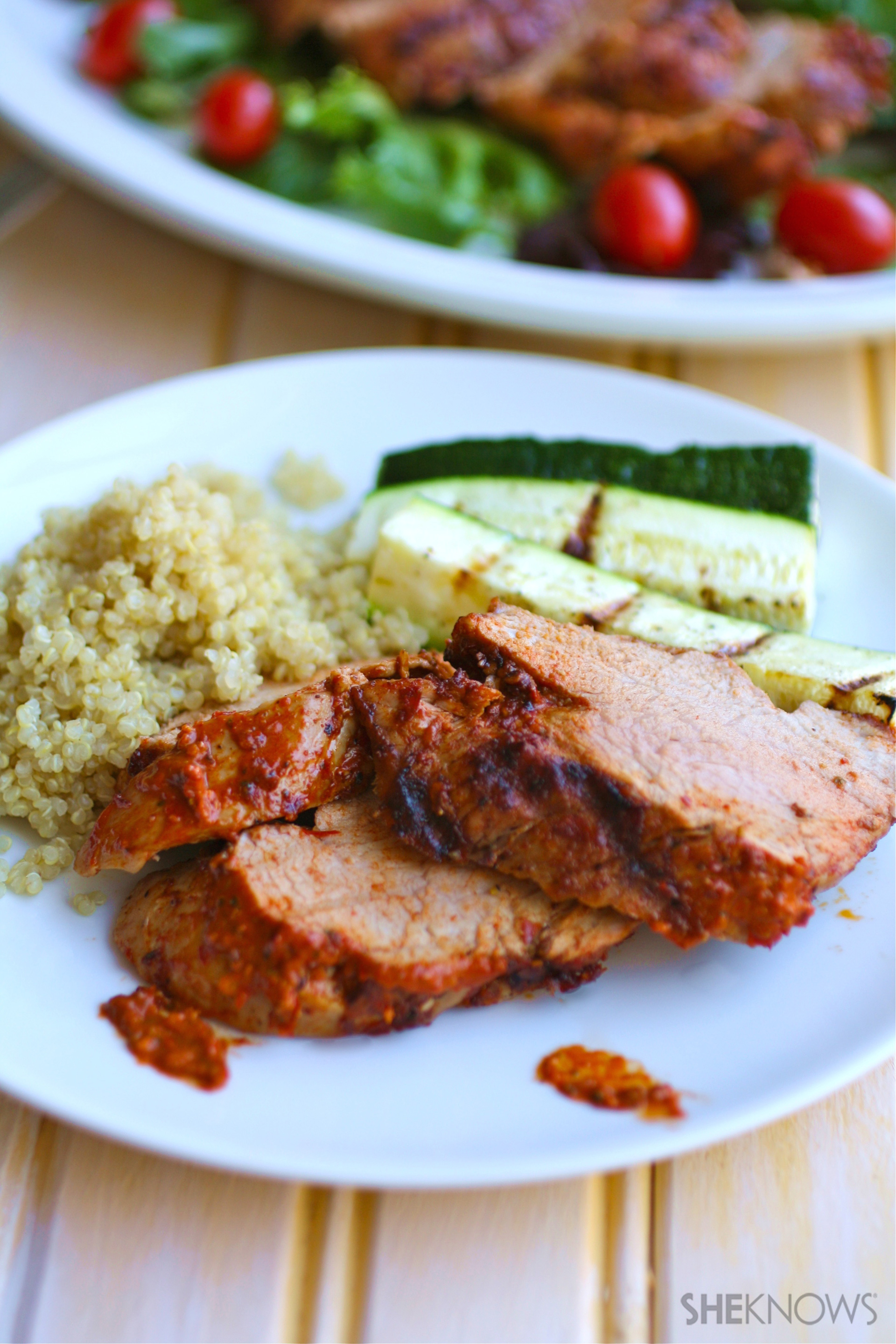 If you like it hot, then harissa is for you (and makes your grilled pork taste amazing)