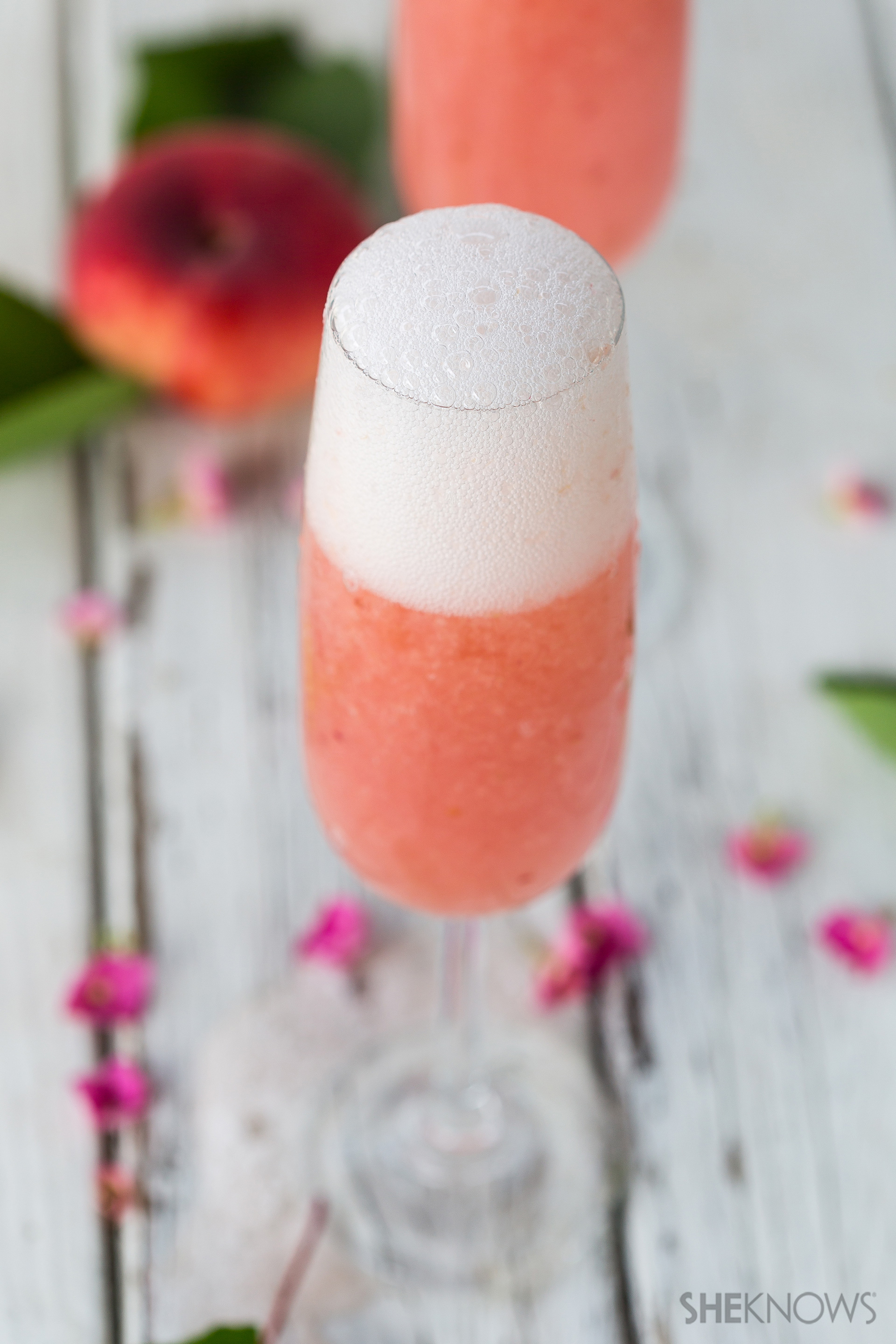 Homemade Bellini recipe