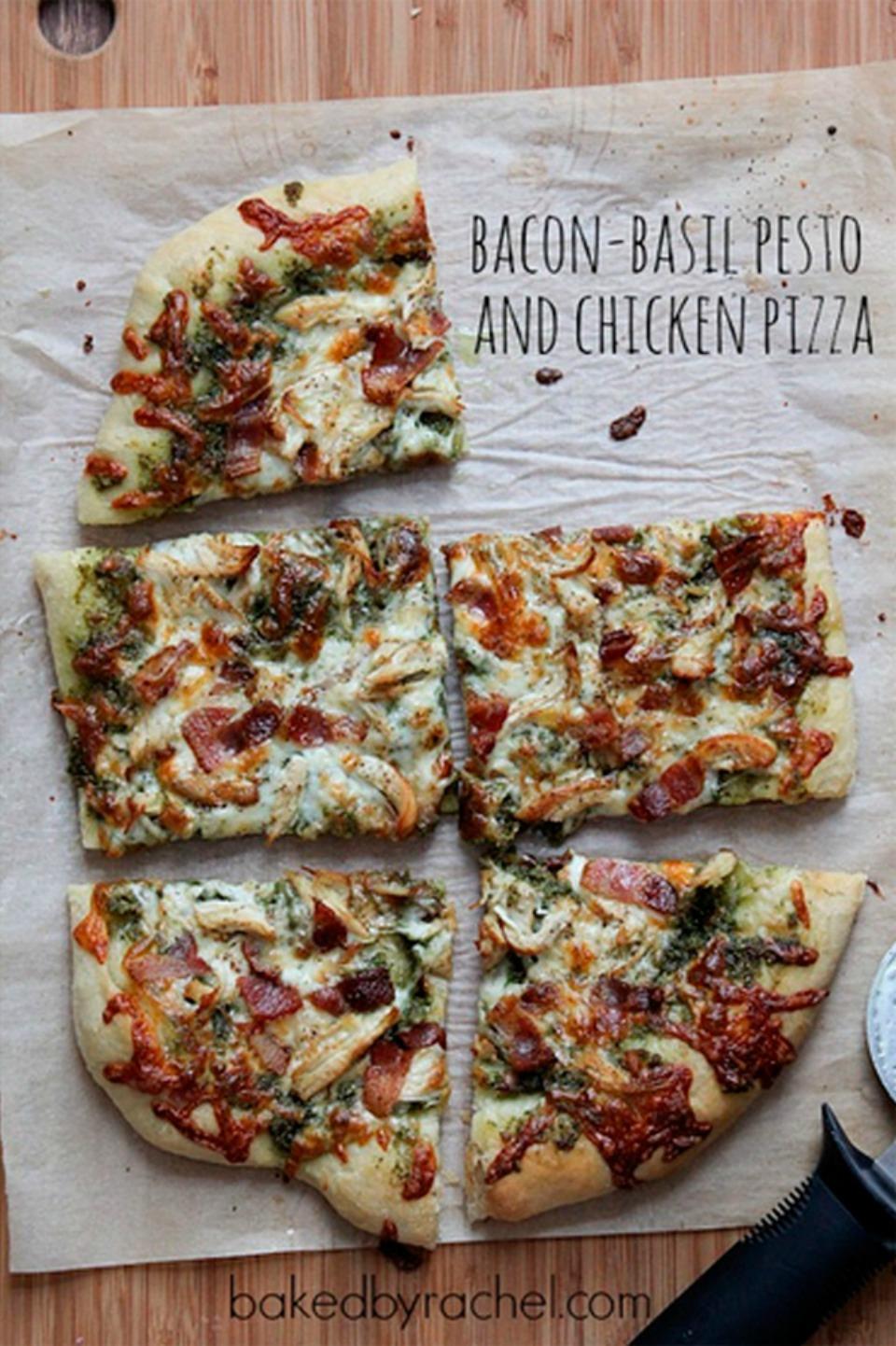 Tomato Pesto Pizza My Favorite Basil Pesto Recipe Amp; The ...