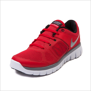 Tween Nike Flex Run Athletic Shoe