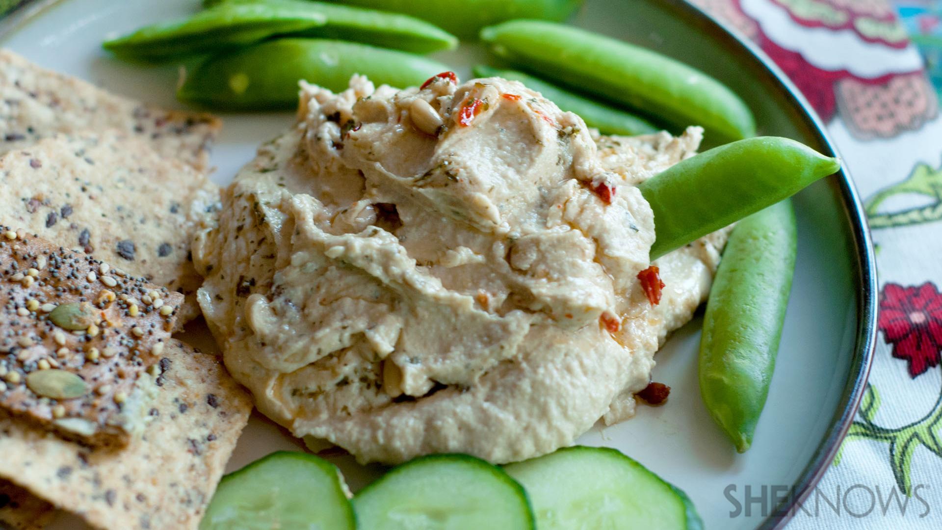 Thai coconut dream hummus recipe