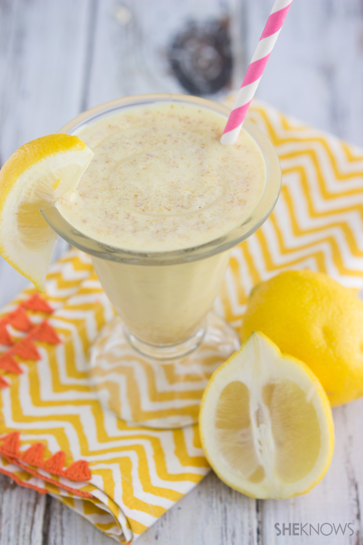 Lemon pie bar milkshake