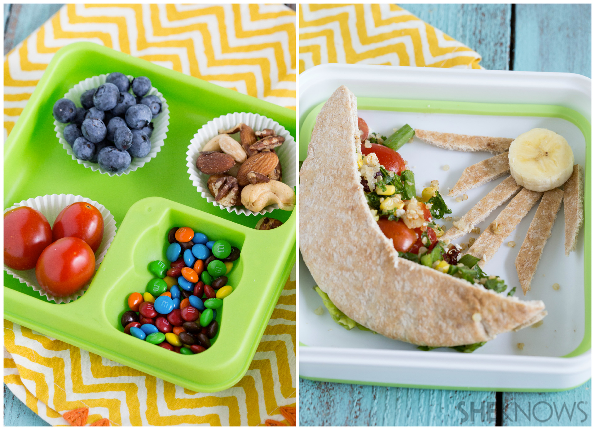The kids will go crazy for these super-fun and super-easy bento box lunches