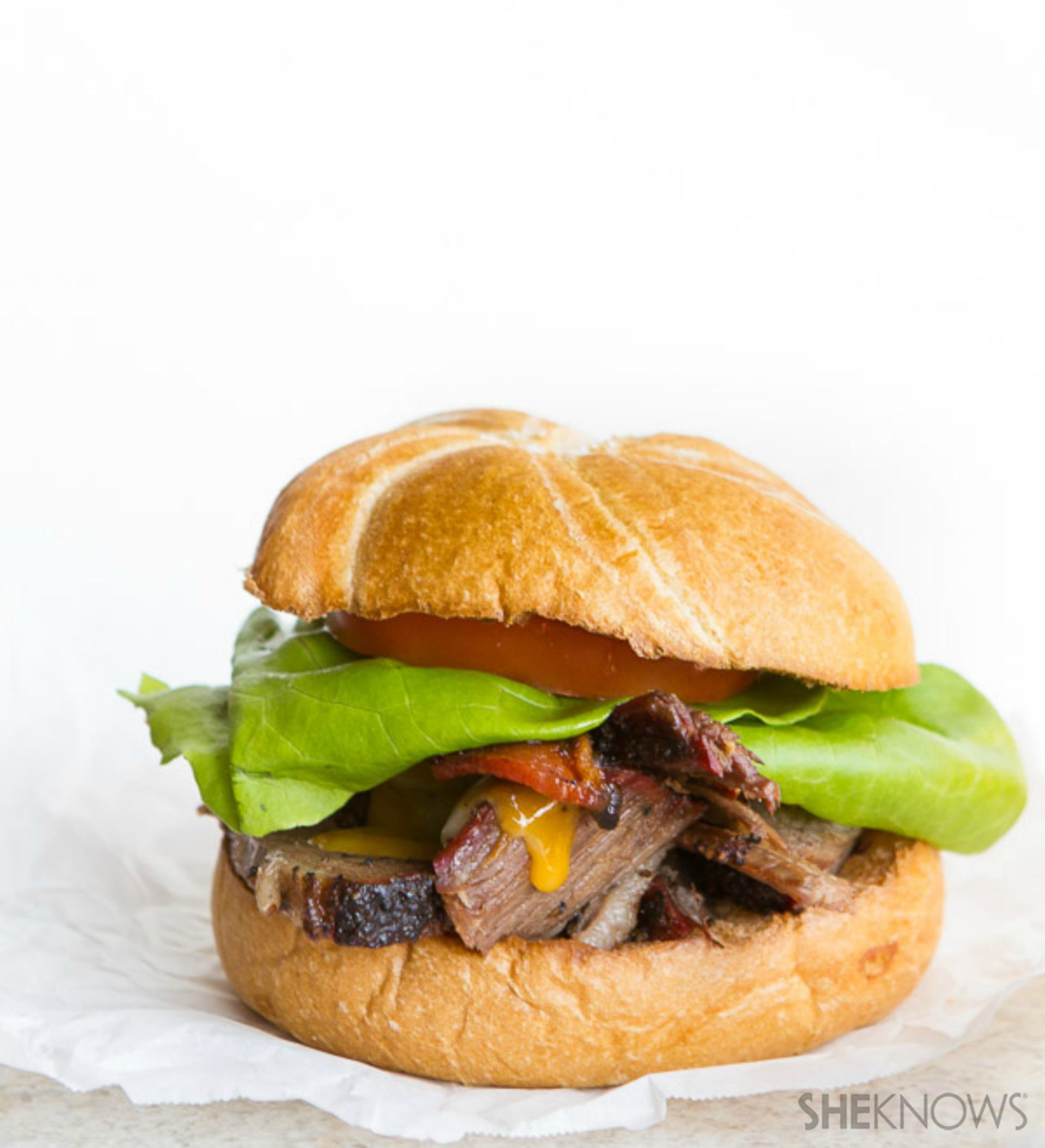 How do you make a BLT even better? Add tender, juicy brisket.