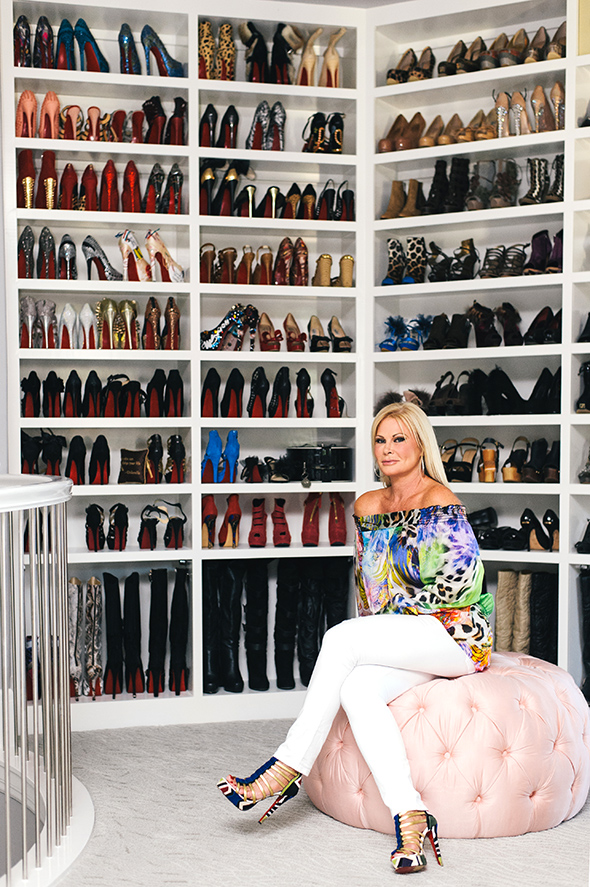 Does this $500,000, 3-story closet irritate or inspire you?