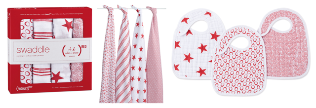 aden + anais (RED) collection to fight AIDS