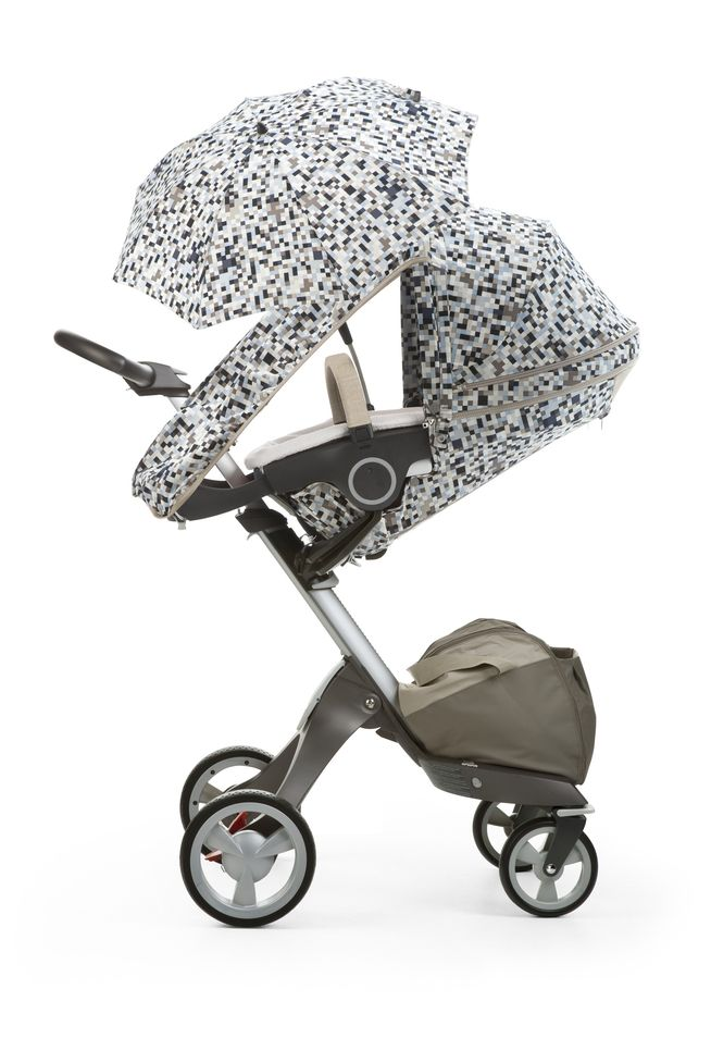 Stokke Xplory Summer Kit in Blue Pixel