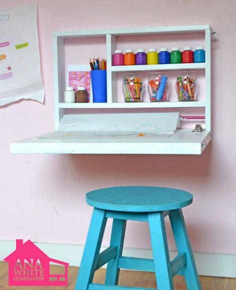 Small Wall Desk