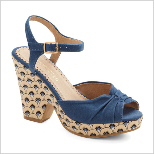 Patterned Sole Wedge