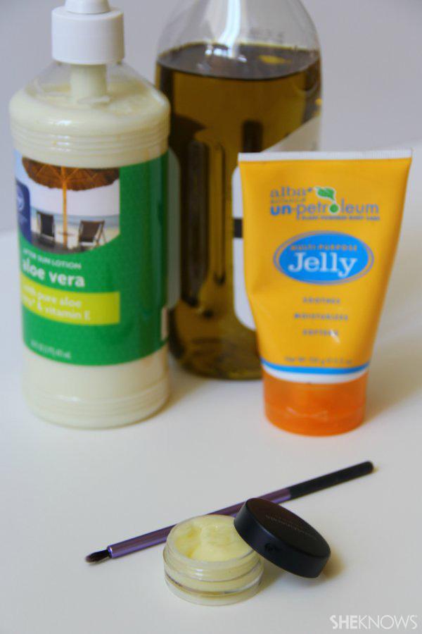 DIY Eyelash Serum: ingredients