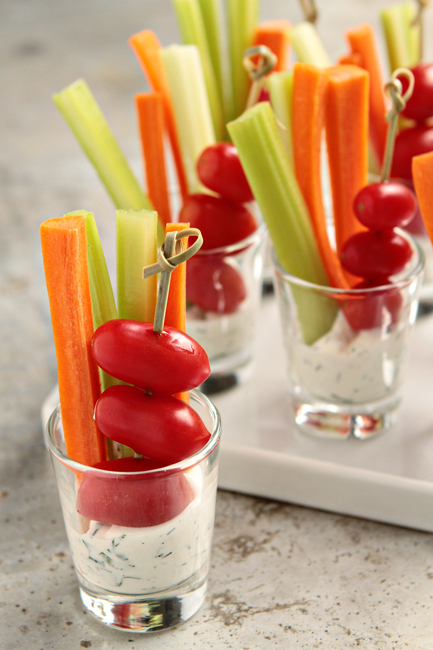 dill dip cups