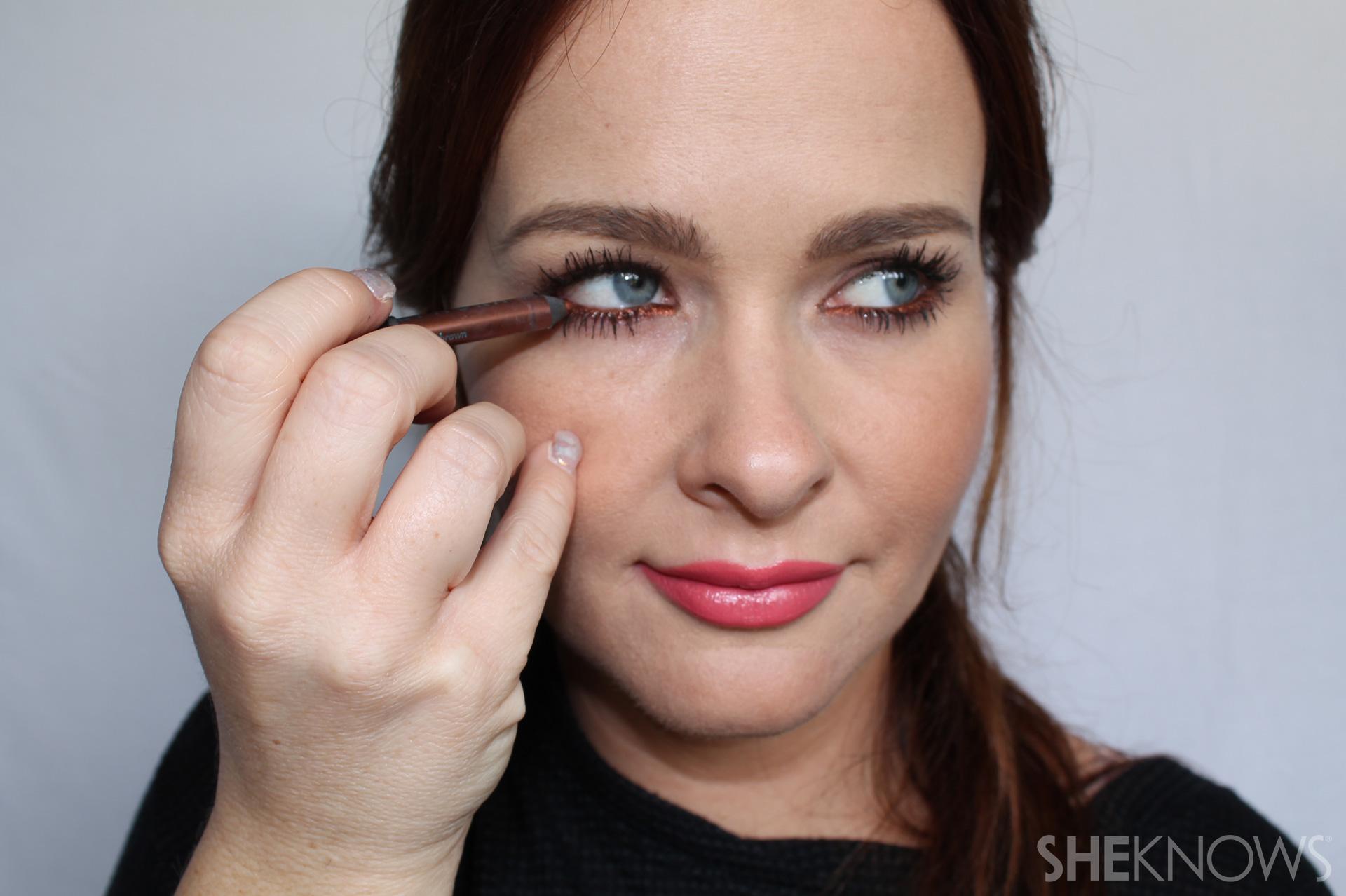 Inner rim Step 2: apply to other eye