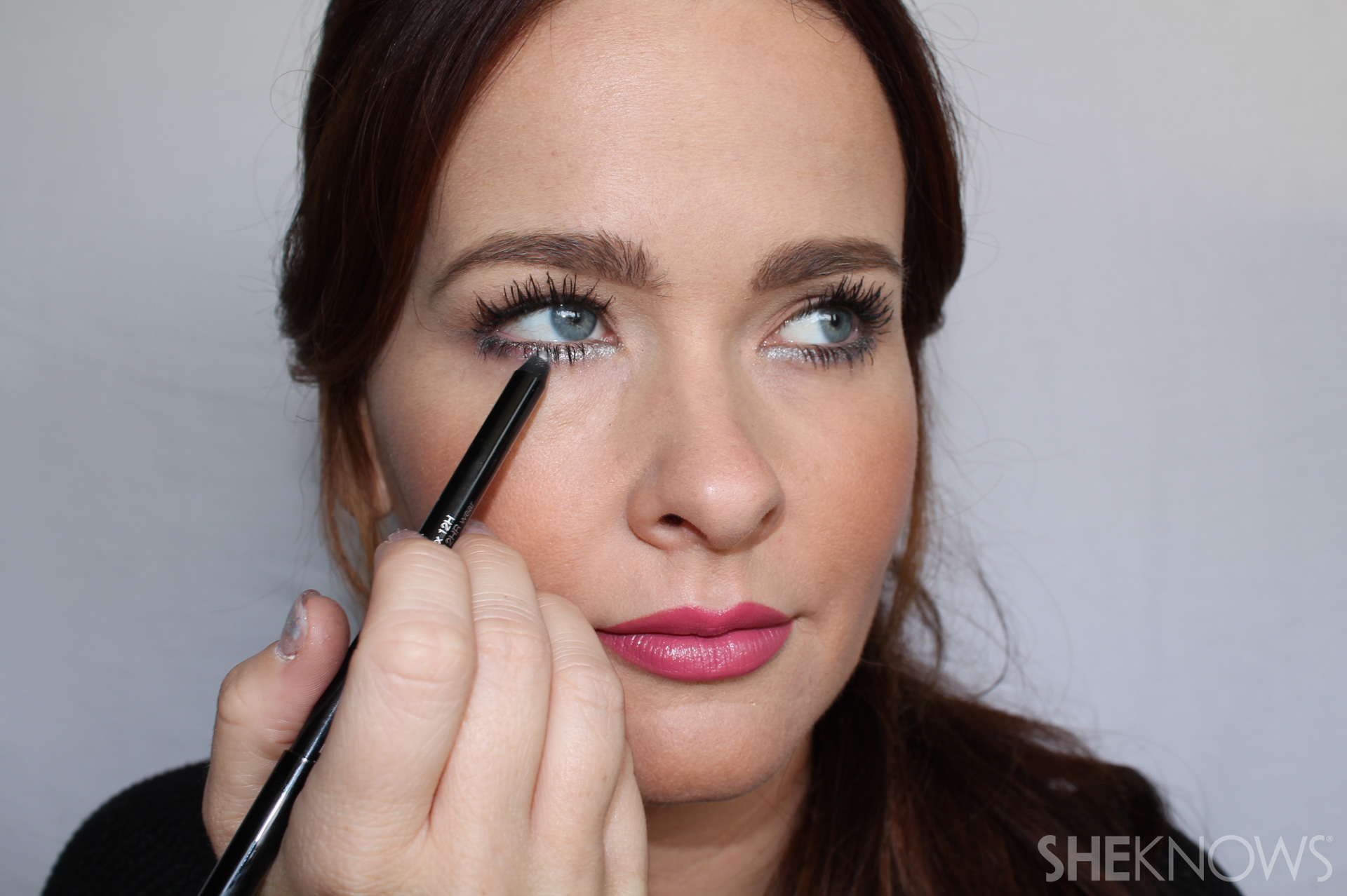 Undereye Step 1: Go over twice for intense color