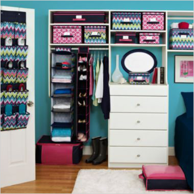 Keep your teen organized with these products for Walk in closet ideas for teenage girls