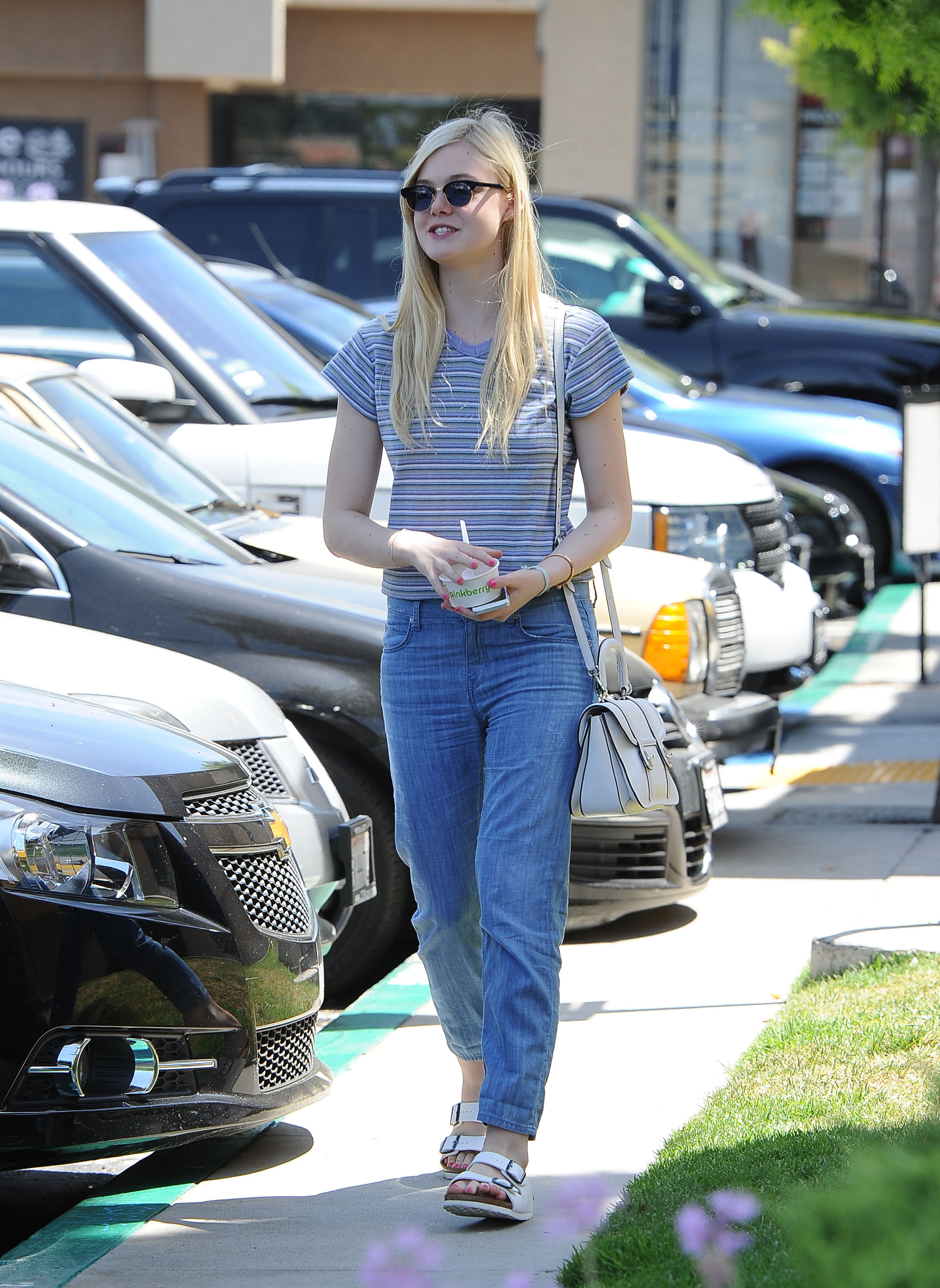 Get Elle Fanning's look for less