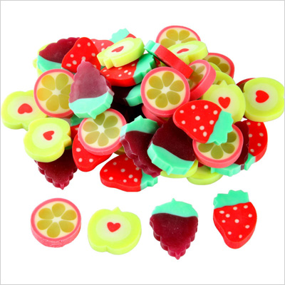 Fruit Slice Erasers