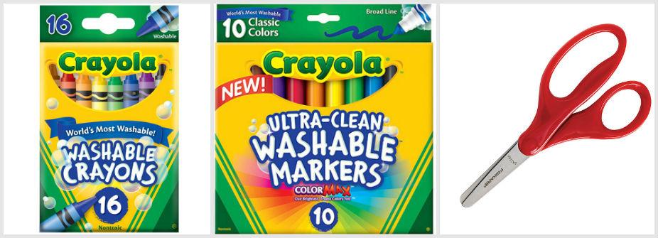 school supplies for kindergarten - third grade