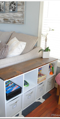 Upcycle storage