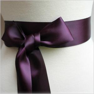 Bow sash
