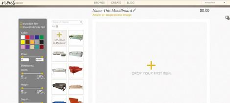 nousDECOR moodboard