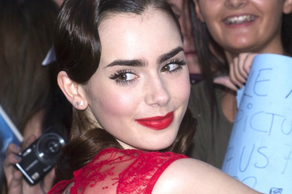 how to grow your eyebrows like lily collins