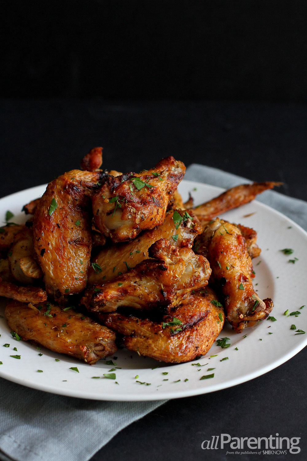 allParenting Grilled chicken wings