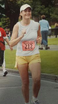Erin E. running