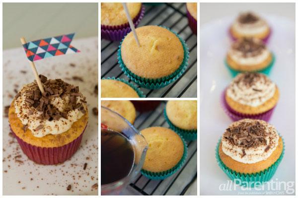 allParenting Tiramisu cupcakes collage