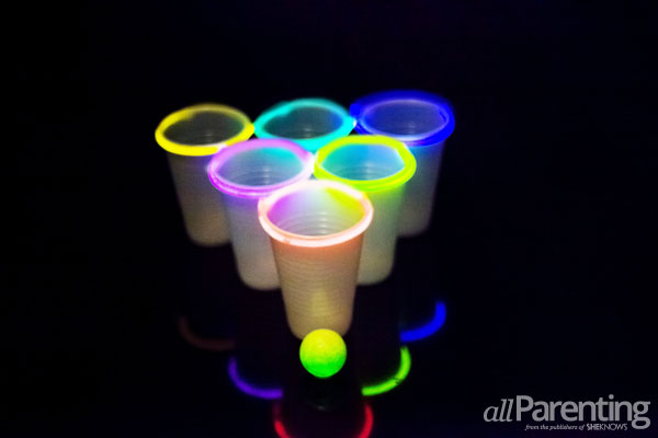 allParenting Ring of fire beer pong