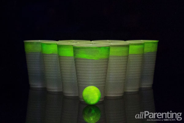 allParenting Light up the night with beer pong