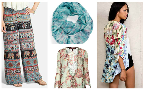 Boho Chic collage one