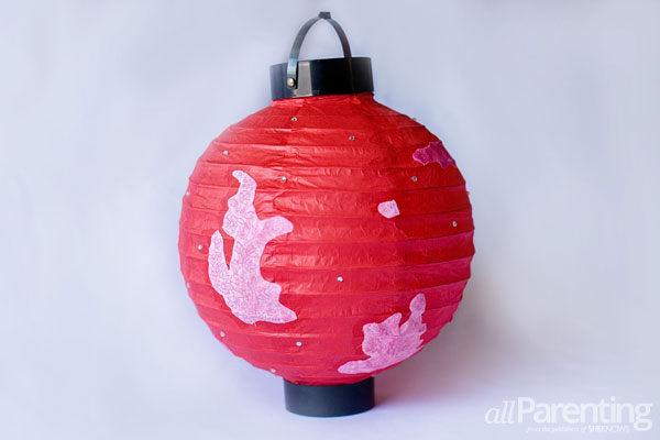 allParenting Fabric paper lantern party décor