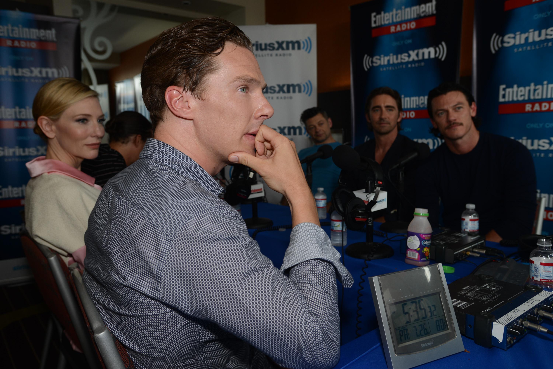 Benedict Cumberbatch causes quite the stir in San Diego