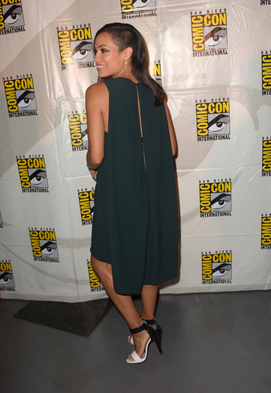 Rosario Dawson at Comic Con