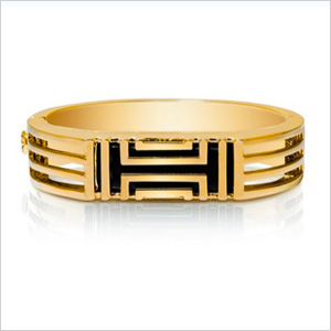Tory Burch for Fitbit Metal Hinged Bracelet.