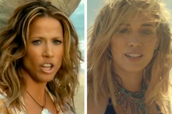 "Hilary Duff's ""Chasing the Sun"" sure sounds a lot like Sheryl Crow's classic summer anthem"